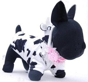 キュートに決まるコスチュームでウシさんに大変身!!レビューを書いて送料無料♪牛柄のドッグ...