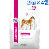 (取寄:1〜2週間) ユーカヌバ お腹すこやかに 成犬用 全犬種用 1ケース(2kg×4袋) (センシティブダイジェスション)