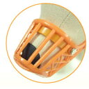 ペッツルート ドッグ用マズル (口輪) Orange (オランジュ) 104 その1