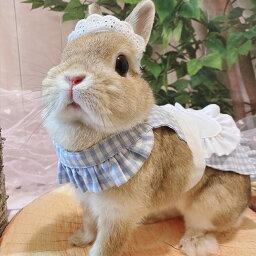 GraceLily フリルエプロン 【 グレースリリー うさぎの服 うさぎ 服 送料無料 ウサギ 兎 】