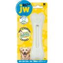 [5%ポイントバック]犬のおもちゃ PLATZ JW エバータフボーン チキンフレーバー Mサイズ 硬くて丈夫な無毒性ナイロン製 フレーバー付きデンタルトーイ