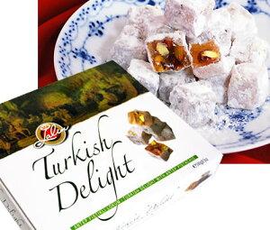 トルコ旅行土産の定番お菓子ロクム(ターキッシュディライト)ピスタチオ入り★Turkiye
