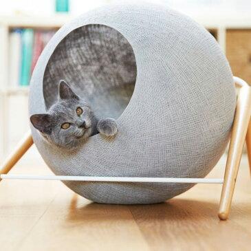 【200】[正規品] meyou PARIS The Ball 猫用ハウスキャット ベット ドーム 隠れ家 オシャレ 可愛い 高級 爪とぎ フォトジェニック インスタ映え ザ・ボール ミーユー パリス
