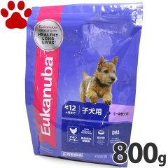 ユーカヌバ 子犬(離乳期から12か月) 小型犬/中型犬 超小粒 800g 正規品 ドッグフード ユカヌバ