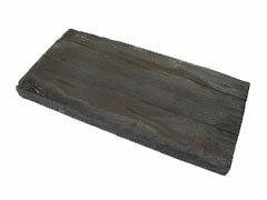 コンクリートでできた枕木風の平板です。週末のDIY作業に。コンクリート製枕木風平板 リアルウ...