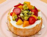 フルーツたっぷりアニバーサリーケーキ