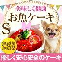 犬用ケーキ(無添加 お魚 ケーキ S)犬の誕生日・クリスマス...