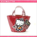 ★【HbG】×ハローキティ Skater Kitty Eco Lunch (ピンク)★【あす楽】