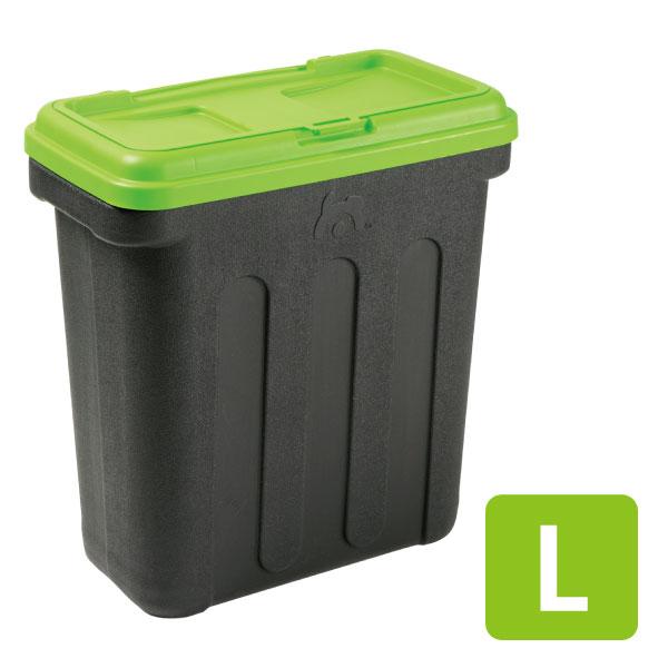 【ポイント2倍】グリーンフードコンテナ L[OFT][フードストッカー フードコンテナ 容器 ペットフード エサ入れ 食器 フードケース おやつケース 保存ケース]【D】