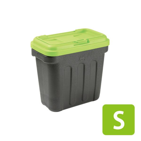 【ポイント2倍】グリーンフードコンテナ S[OFT][フードストッカー フードコンテナ 容器 ペットフード エサ入れ 食器 フードケース おやつケース 保存ケース]【D】