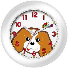 マイファミリー 掛時計 キャバリア(オレンジ)[犬とEnjoy!ドッグパーク]