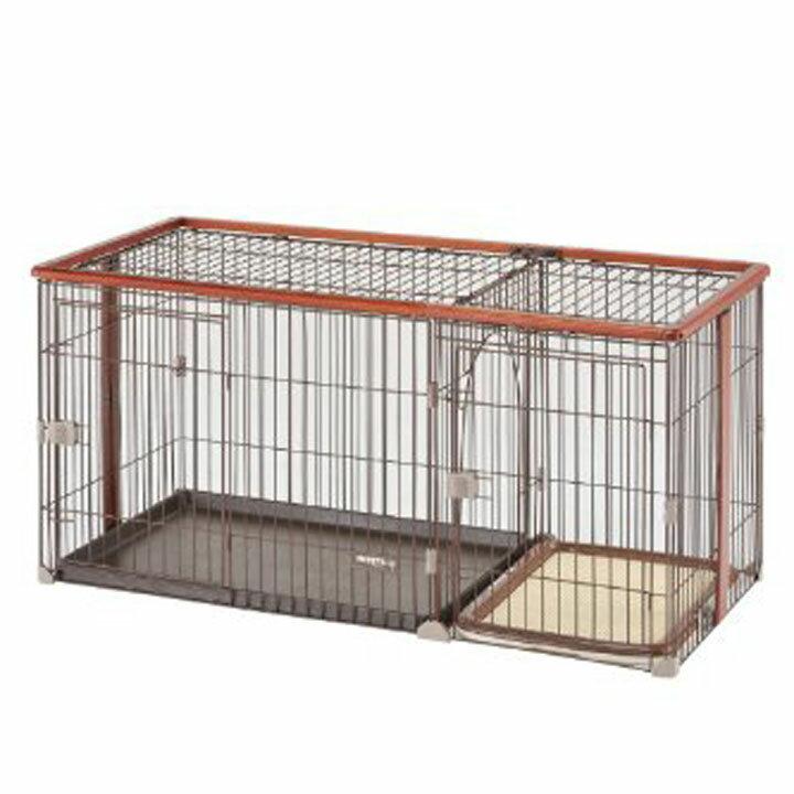 【ポイント2倍】ボンビ しつけるウッドワンサークル Lサイズ 送料無料 ボンビ ケージ 犬 ペット 【D】 [EC]