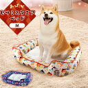 セサミストリート スクエアベッド M ペットベッド ペット用 カドラー 猫 キャット 寝具 犬 ドッグ やわ...