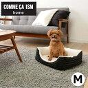 COMME CA ISM ペットベッド スクエアベッド Mサイズあったか ペットベッド ペット ベッド コムサ ペット用品 犬 猫 COM-SBM アイリスオーヤマ [2017af]