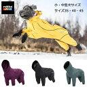 ルッカ オーバーオールレインコートサイズ35 40 45 犬 レインコート 小型犬 中型犬 フルレングス 着せやすい