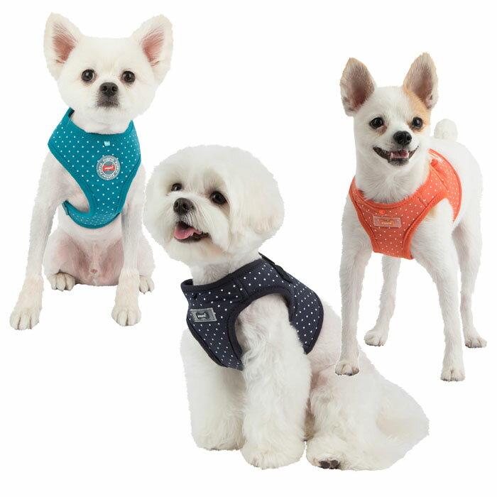 犬用 胴輪 ドッティーハーネスIIB DOTTY HARNESS II B:XS,S,M,Lサイズ PUPPIA パピア ペット ドッグ 小型犬