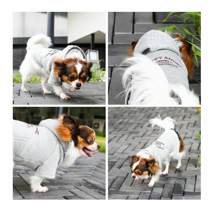 犬用 PAオリジナルヴィンテージフードTシャツ:S,SM,M,ML,L,XLサイズ Puppy Angel Original Vintage Hood T-shirt パピーエンジェル ダウン ペット ドッグ 洋服