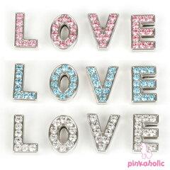 着後レビューを書いて5%OFF!イニシャルレター「LOVE」☆【PINKAHOLIC N.Y.】ピンカホリック/n...