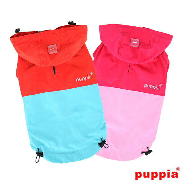 パズレインコート:S,M,Lサイズ PUPPIA パピア 犬 犬用 洋服 ペット ドッグ ペット・ペットグッズ ドッグウェア 送料無料 papa-rm1321
