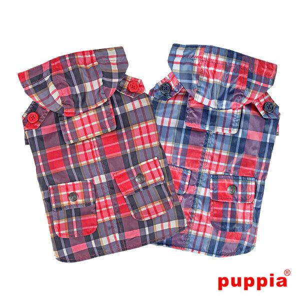バリントンレインコート:XLサイズ PUPPIA パピア 犬 犬用 洋服 ペット ドッグ ペット・ペットグッズ ドッグウェア 送料無料 papa-rm1322