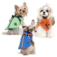 犬用ハーネスジャンパーマウンテニアII:S,M,LサイズPUPPIAパピア犬ペットドッグ洋服ダウンベスト胴輪送料無料