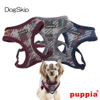 犬用/胴輪/エルドリックハーネスA/ELDRIC/HARNESS/A/S,M,Lサイズ/PUPPIA/パピア/ペット/ドッグ/小型犬