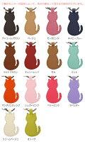 【名入れ 母の日 プレゼント キーホルダー 名前入り 猫グッズ 猫好き ねこ ネコ 実用的】【本革】レザーキーリング[ネコ型]【おしゃれ ギフト 母 祖母 友達 誕生日祝い 雑貨 ギフト かわいい 先生 _ns】