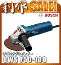 ボッシュ ディスクグラインダー 100mm [ GWS750...