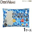 シーズイシハラ クリーンミュウ ミュウサンド 固まる流せる白い紙製の砂 13.5L×4 [ケース販売] [同梱不...