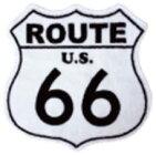"""アメリカン・フロアマットAMERICANFLOORMAT""""ROUTE66""""ROUTE66-WHITE"""