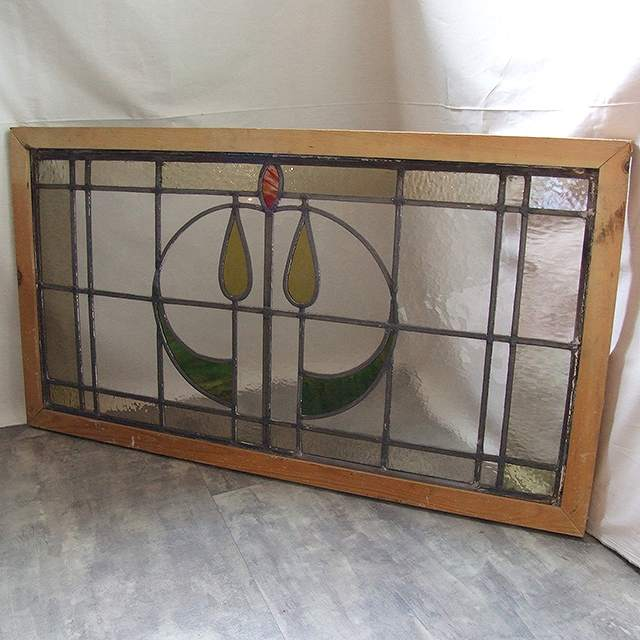 アンティーク ステンドグラス イギリス 窓 ガラス 建具 採光 明かりとり 教会 チャペル