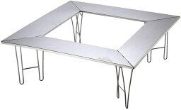 CAMPING MOON キャンピングムーン ファイアープレイステーブル 囲炉裏テーブル 焚き火テーブル ファイアーガード T 500 焚火テーブル グリルプレイステーブル 送料無料
