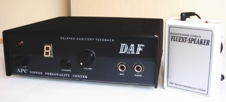 吃音改善をサポートスムーズなしゃべりを促す発話リード装置DAF フルーエント・スピーカー セット