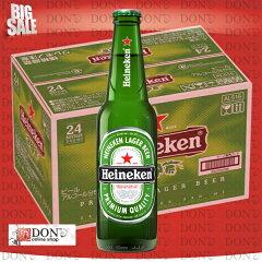 【輸入正規品】 ハイネケン Heineken ロングネック 330ml 瓶(1ケース/24本入り)世界170カ国以...