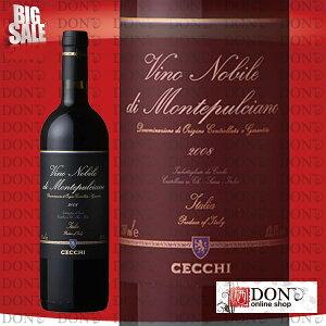 【赤ワイン】 チェッキ ヴィノ・ノビレ・ディ・モンテプルチアーノ イタリア 赤ワイン 750m…