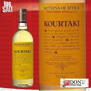 【白ワイン】 クルタキス レッチーナ・オブ・アッティカ ギリシャ 白ワイン 750ml【白ワイン】...