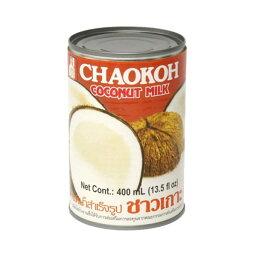 (Z)[送料無料]チャオコー ココナッツミルク 400ml
