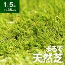 人工芝 ロール 1m×5m 芝丈35mm 送料無料 人工芝 芝生マット 人工芝生 人工芝マット 人工芝ロール 芝生 ロールタイプ 固定ピン 庭 ベランダ テラス バルコニー ガーデニング ガーデン 屋上緑化 u字ピン 水はけ