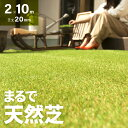 人工芝 ロール 2m×10m 芝丈20mm 送料無料 人工芝 芝生マット 人工芝生 人工芝マット 人工芝ロール 芝生 ロールタイプ 固定ピン 庭 ベランダ テラス バルコニー ガーデニング ガーデン 屋上緑化 u字ピン 水はけ