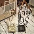 傘立て(BR/IV)傘立傘たてかさ立てカサ立てかさたてブラウンアイボリー傘玄関収納玄関収納傘収納事務所エントランスカフェショップ洋アイアン北欧シンプルモダンデザインインテリア雑貨ハート可愛いかわいいおしゃれ【送料無料】