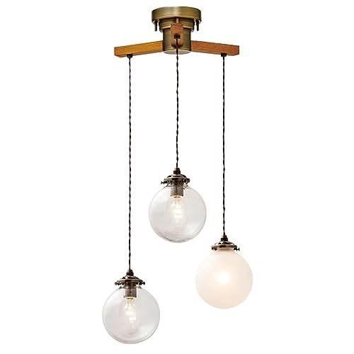 【150円クーポン】INTERFORM インターフォルム ペンダントライト 3灯 LED電球付属 Orelia -dangle 3- オレリア -ダングル3- ミックス 4.5畳~6畳 LT-1963MX:生活雑貨 どんぐりの木