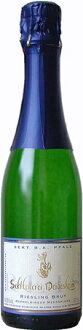 375 ml (Sekt Keller rye die death Haym) of 375 ml of ダイデスハイムリースリングゼクトブリュット Deidesheim Riesling Sekt brut (Sekltkellerei Deidesheim)