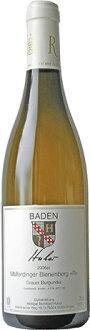 マルターディンガー-ビーネンベルク グラウアーブルグンダー Q. b. A. grape Bernhard Huber Malterdinger Bienenberg Grauerburgunder Q b A... trocken 2008 (Weingut Bernhard Huber)