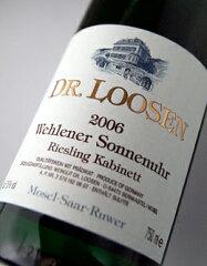 ヴェーレナー・ゾンネンウーアリースリング・カビネット[2008](ドクター・ローゼン)WehlenerSonnenuhrRieslingKabinett[2008](Dr.Loosen)【ドイツ】【やや甘口】【白ワイン】