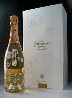 """Belle Epoque Blanc de Blanc [2002] (Perrier-jouet) [Gift Box with""""Belle Epoque Blanc de Blancs [2002] (Perrier Jouet)"""
