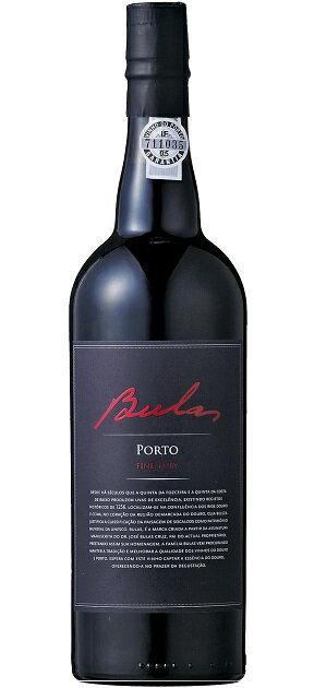 ポート ブラス ファイン・ルビー [NV] (ブラス) Porto Bulas Fine Ruby [NV] (Jose Afonso Moreno Bulas Cruz e Maria Gabriel Moreno Bulas Cruz) 【赤 ワイン】【ポートワイン 極甘口】