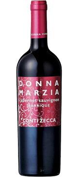 ドンナ・マルツィア カベルネ・ソーヴィニヨン オーク樽熟成 [2017] (コンティ・ゼッカ)Donna Marzia Cabernet Sauvignon Barrique [2017] (Azienda Agricola Conti Zecca) 【赤 ワイン】【イタリア】