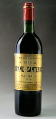 シャトー・ブラーヌ・カントナック[1975]AOCマルゴー・メドック格付第2級ChateauBraneCantenac[1975]AOCMargaux【赤ワイン】