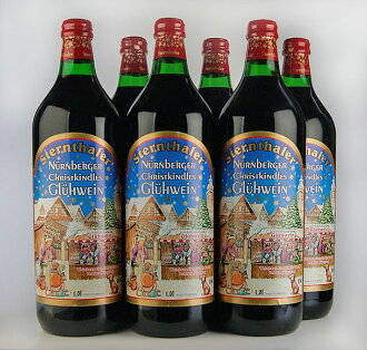 シュテルンターラー, mulled wine 1000 ml Sternthaler Gluhwein 1000ml 6set