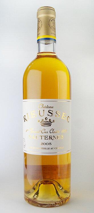 Château RIEUSSEC [2005] AOC Sauternes Premier Grand Cru Classe rating class 1 Chateau Rieussec [2005] AOC Sauternes, 1er Grand Cru Classe